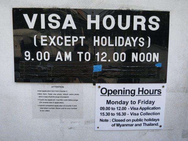 Getting Your Myanmar Visa In Bangkok The Mad Traveler